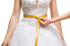 Wedding Dress Alterations  | Downtown Tailors